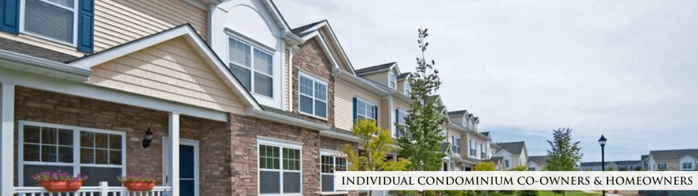 Individual Condominium Co-Owners & Homeowners